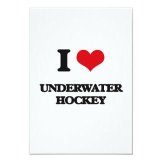 I Love Underwater Hockey Announcement