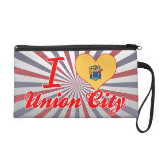 I Love Union City, New Jersey Wristlets