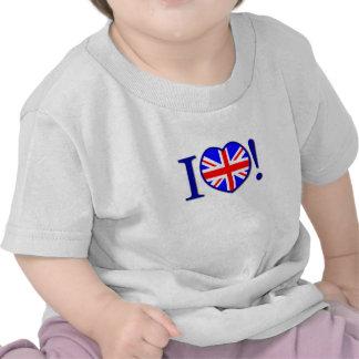 I Love United Kingdom Infant T-shirt