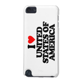 I LOVE UNITED STATES OF AMERICA iPod TOUCH 5G COVER