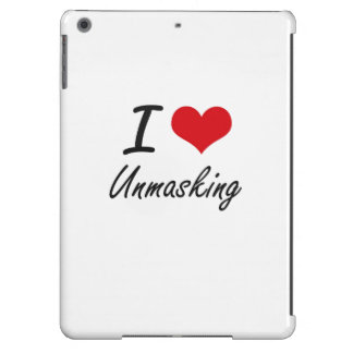 I love Unmasking iPad Air Cases