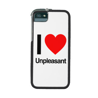 i love unpleasant iPhone 5/5S cover