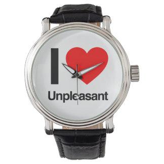 i love unpleasant wrist watches