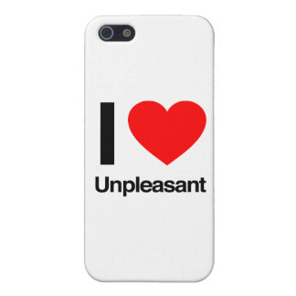 i love unpleasant iPhone 5/5S covers