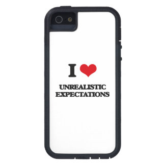 I love Unrealistic Expectations iPhone 5 Cover