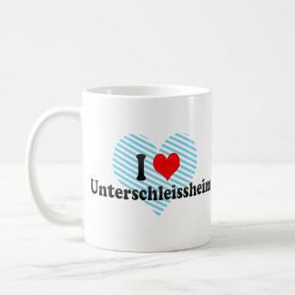 I Love Unterschleissheim, Germany Coffee Mugs