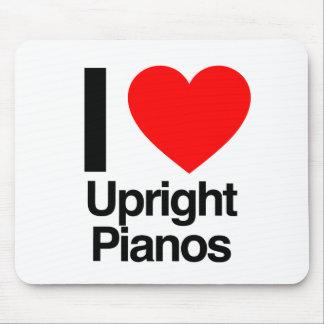 i love upright pianos mousepad