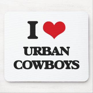 I Love URBAN COWBOYS Mousepad