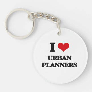 I love Urban Planners Acrylic Keychains