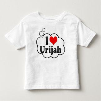 I love Urijah T-shirts