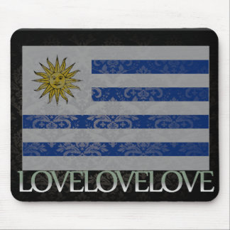 I love Uruguay Cool Mouse Pads