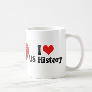 I Love US History Coffee Mug