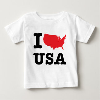 I love USA Baby T-Shirt