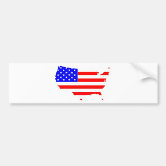 I love USA Country Products! Bumper Sticker