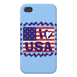 I love USA Stamp Design Covers For iPhone 4