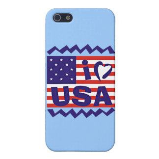 I love USA Stamp Design iPhone 5 Cover