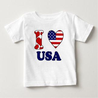 I love USAS Baby T-Shirt