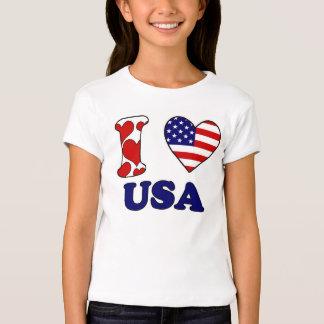 I love USAS T-Shirt