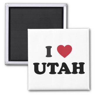 I Love Utah Magnet