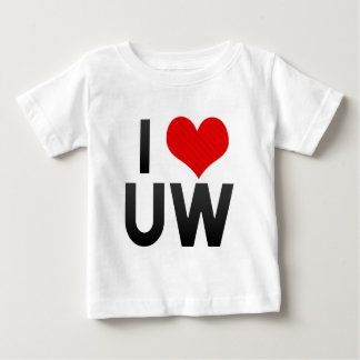 I Love UW T-shirts