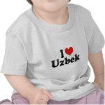 I Love Uzbek Tshirts