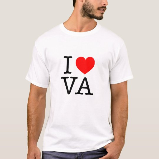 I love VA Virginia T-Shirt