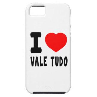 I Love Vale Tudo iPhone 5 Cases