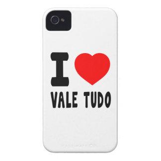 I Love Vale Tudo iPhone 4 Cases
