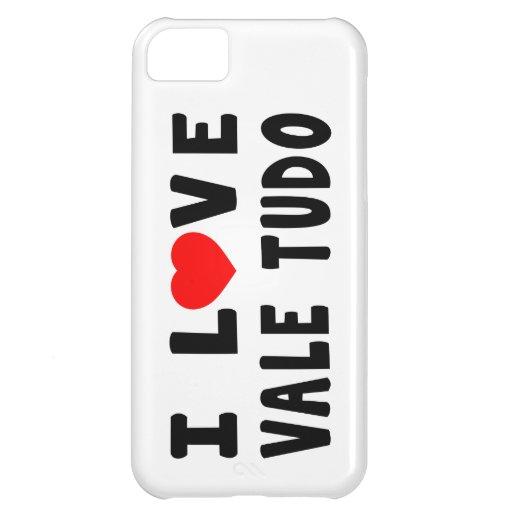 I Love Vale Tudo Martial Arts iPhone 5C Cover