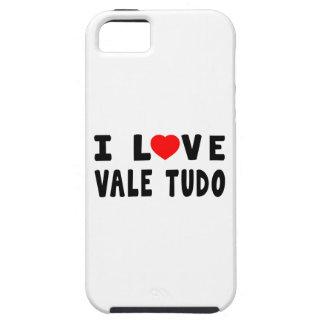 I Love Vale Tudo Martial Arts iPhone 5 Covers