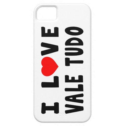 I Love Vale Tudo Martial Arts iPhone 5 Cases