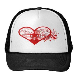 I Love Valentine's Day Cap