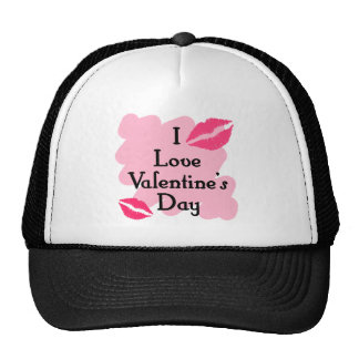 I love valentines day hats