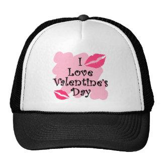 I love valentines day hat