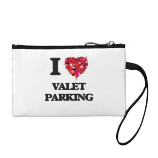 I love Valet Parking Coin Purses