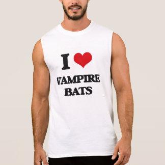 I love Vampire Bats Sleeveless Shirt