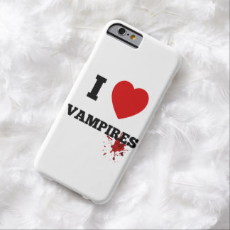 I love Vampires Barely There iPhone 6 Case