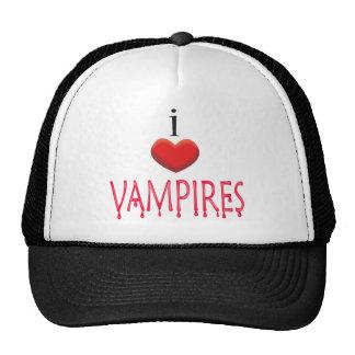 I LOVE VAMPIRES HATS