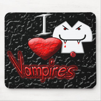 I Love Vampires Mouse Mats