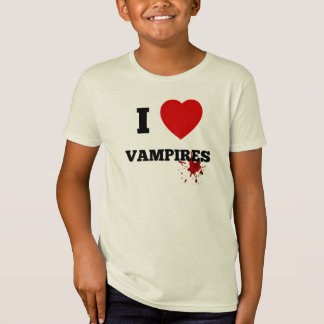 I love vampires t shirts