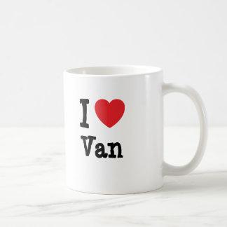 I love Van heart custom personalized Coffee Mug