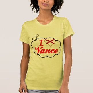 I Love Vance, Alabama T Shirt