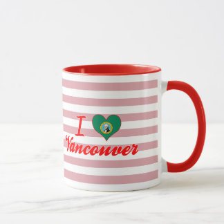 I Love Vancouver, Washington Mug