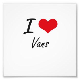 I love Vans Art Photo