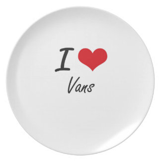 I love Vans Party Plates
