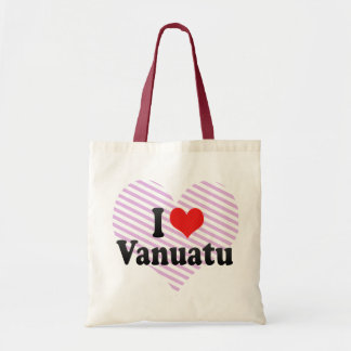 I Love Vanuatu Canvas Bag