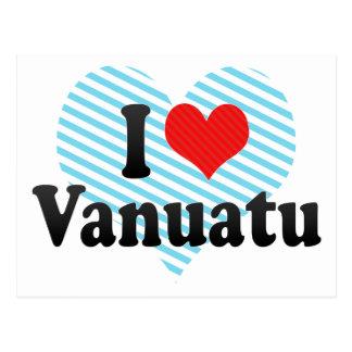 I Love Vanuatu Postcard