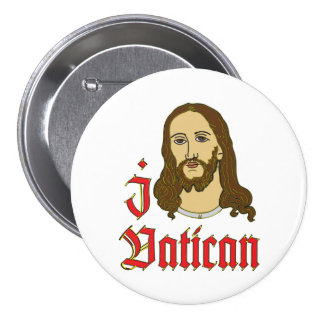I LOVE VATICAN button