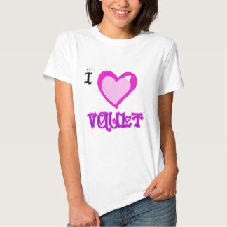 I LOVE Vault Tshirts