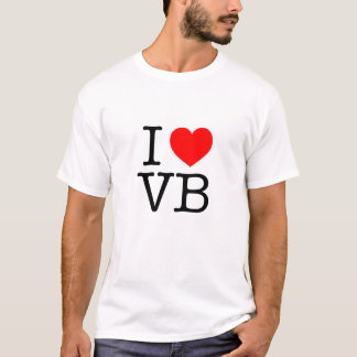 I love VB Virginia Beach T-Shirt
